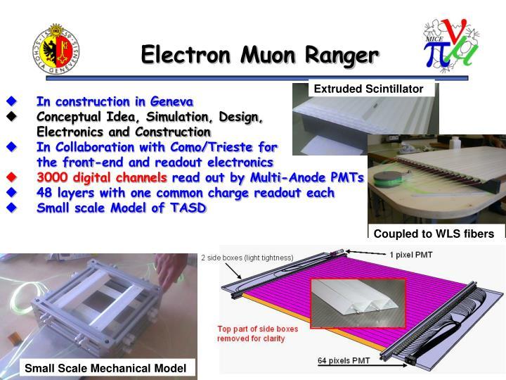 Electron Muon Ranger