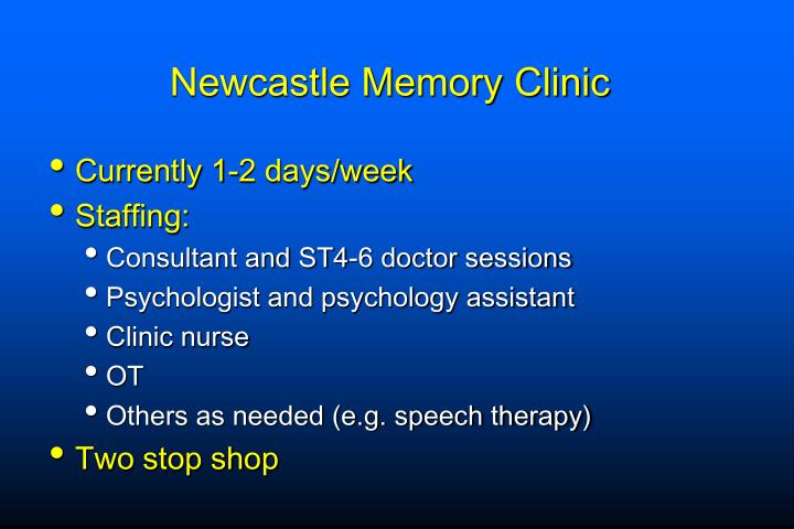 Newcastle Memory Clinic