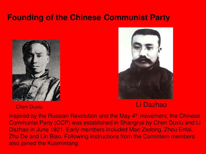 Founding of the Chinese