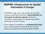 inspire infrastructure for spatial information in europe1