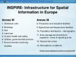 inspire infrastructure for spatial information in europe11
