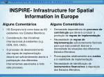 inspire infrastructure for spatial information in europe13