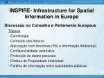 inspire infrastructure for spatial information in europe16