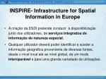 inspire infrastructure for spatial information in europe2