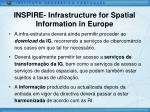 inspire infrastructure for spatial information in europe7