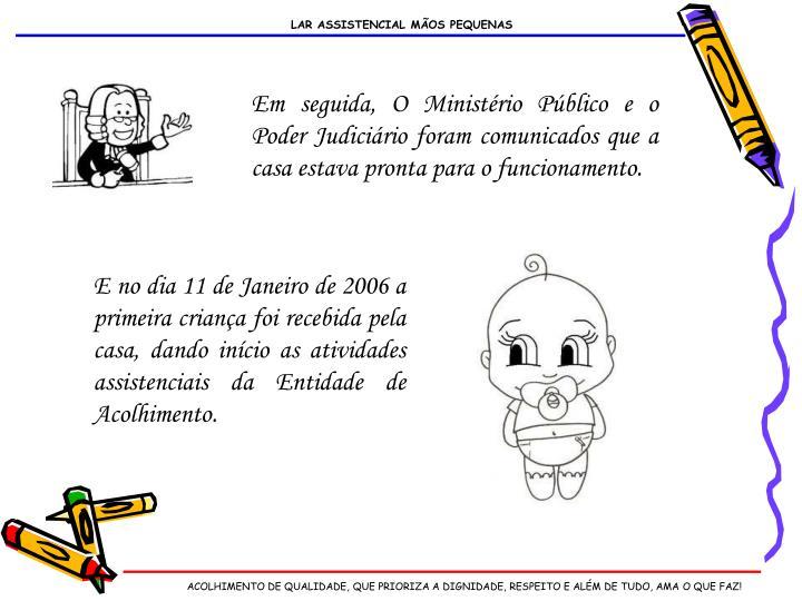 LAR ASSISTENCIAL MÃOS PEQUENAS