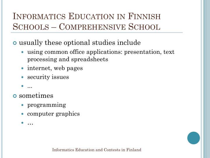 Informatics