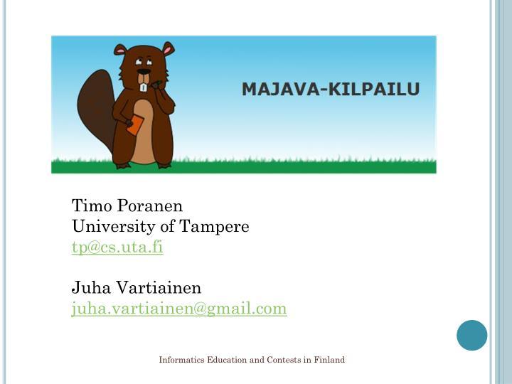 Timo Poranen