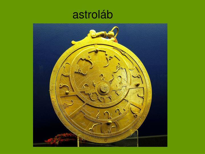 astroláb