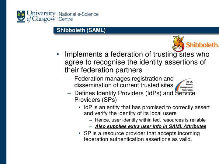 Shibboleth (SAML)