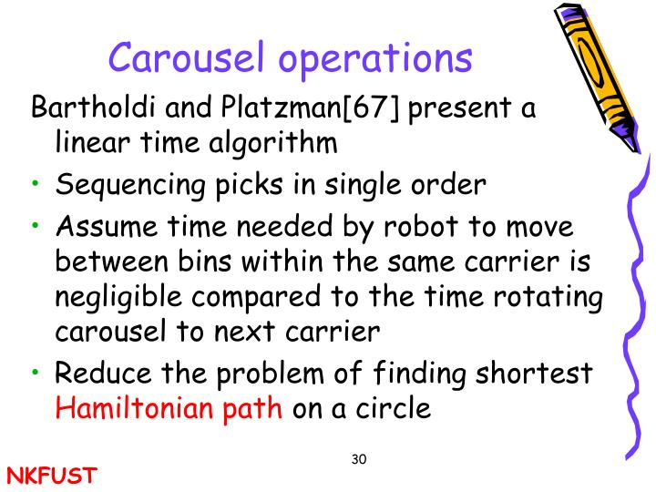 Carousel operations
