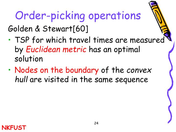 Order-picking operations