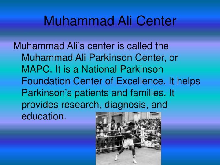 Muhammad Ali Center