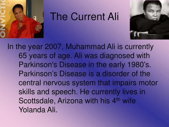 The Current Ali