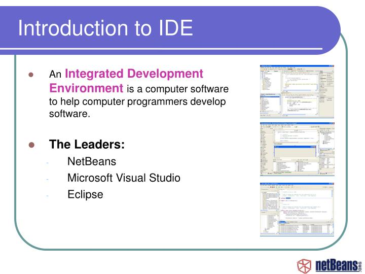 Introduction to IDE