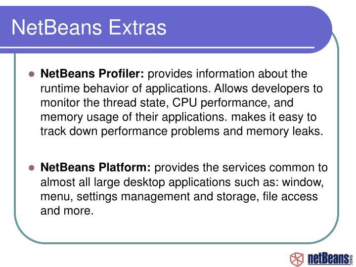 NetBeans Extras