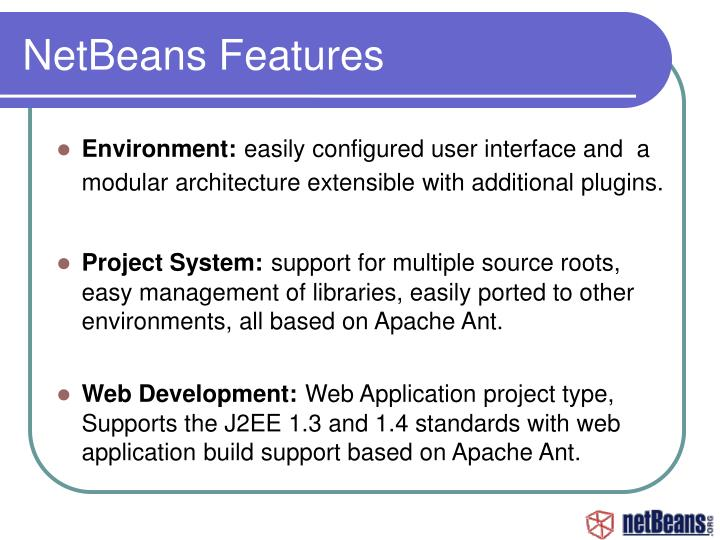 NetBeans Features