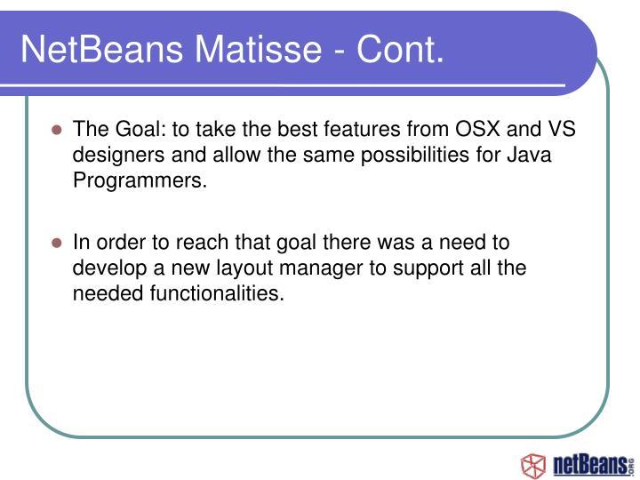 NetBeans Matisse - Cont.