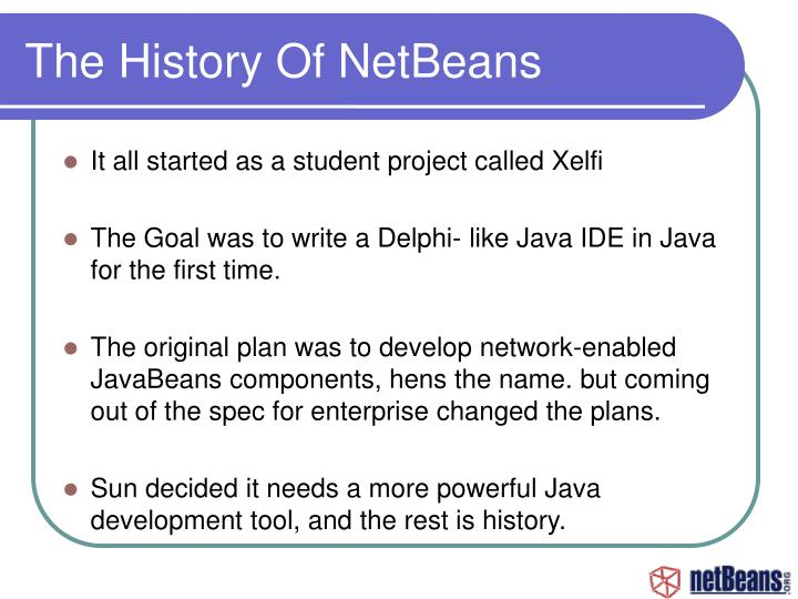 The History Of NetBeans
