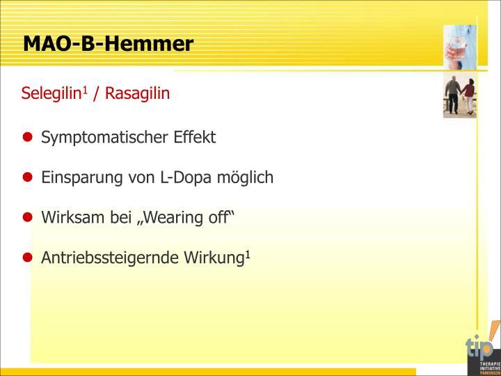 MAO-B-Hemmer