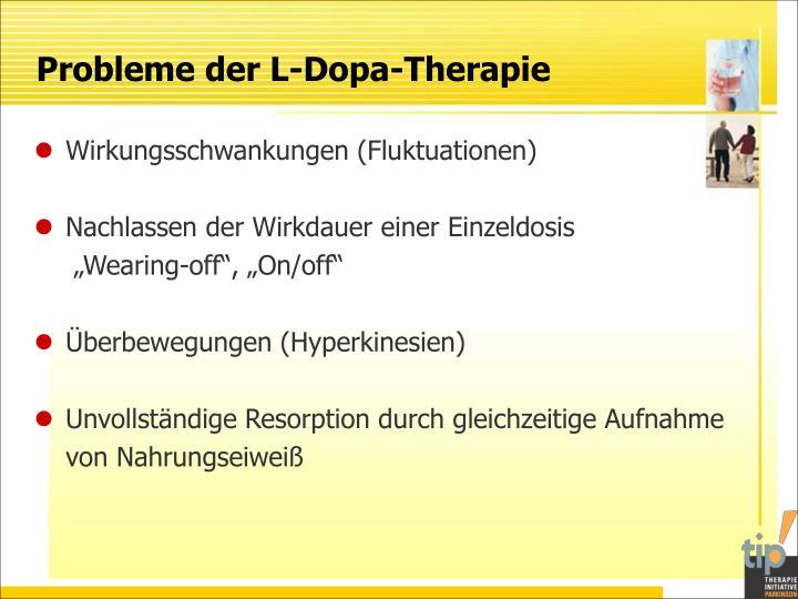 Probleme der L-Dopa-Therapie