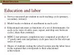 education and labor