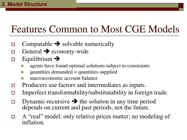 2. Model Structure