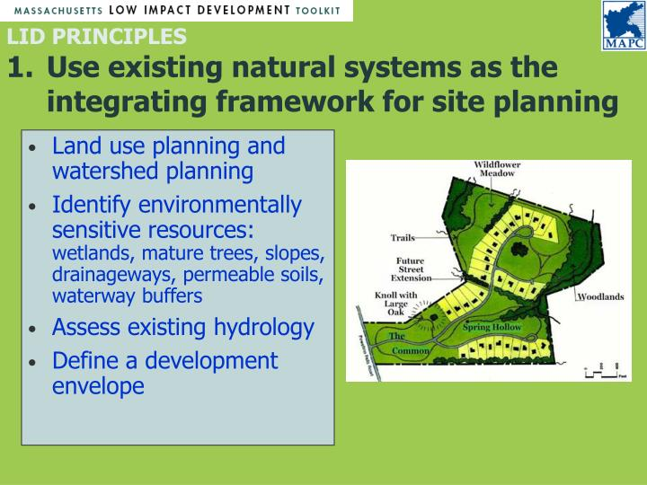 Land use planning and watershed planning