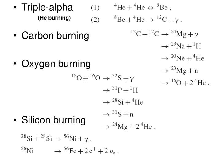 (He burning)