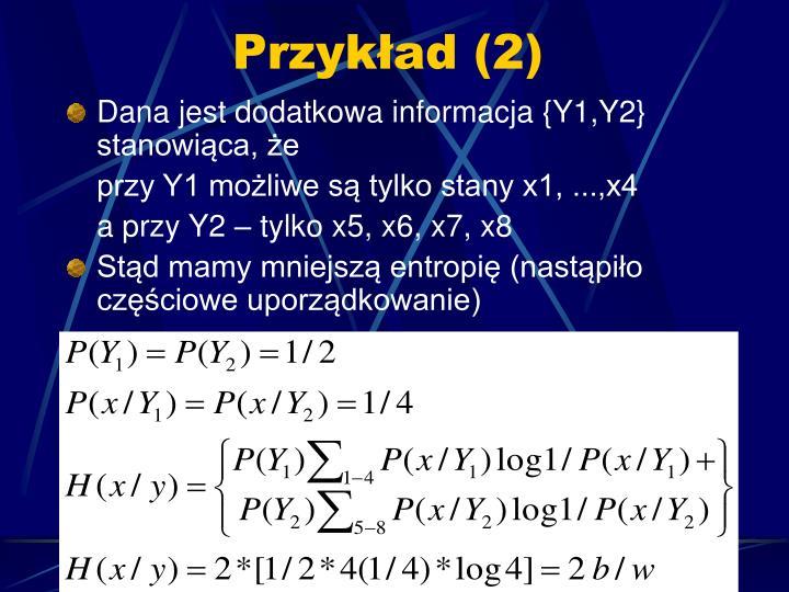 Przykład (2)