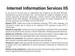 internet information services iis