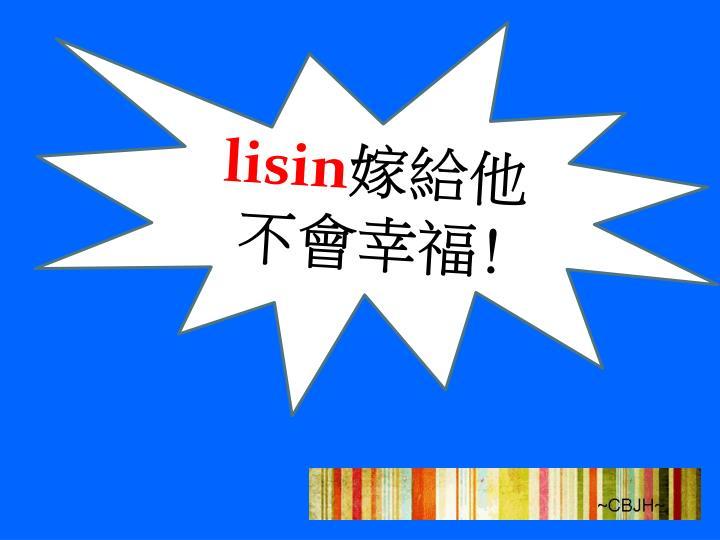 lisin