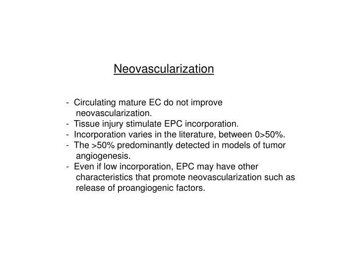 Neovascularization