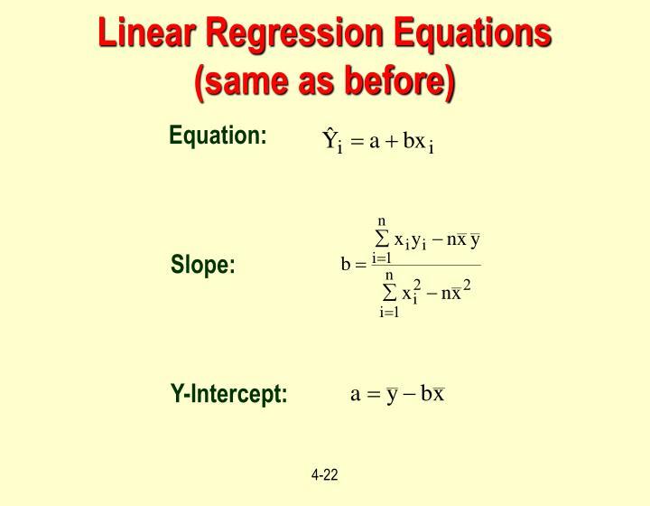 Equation: