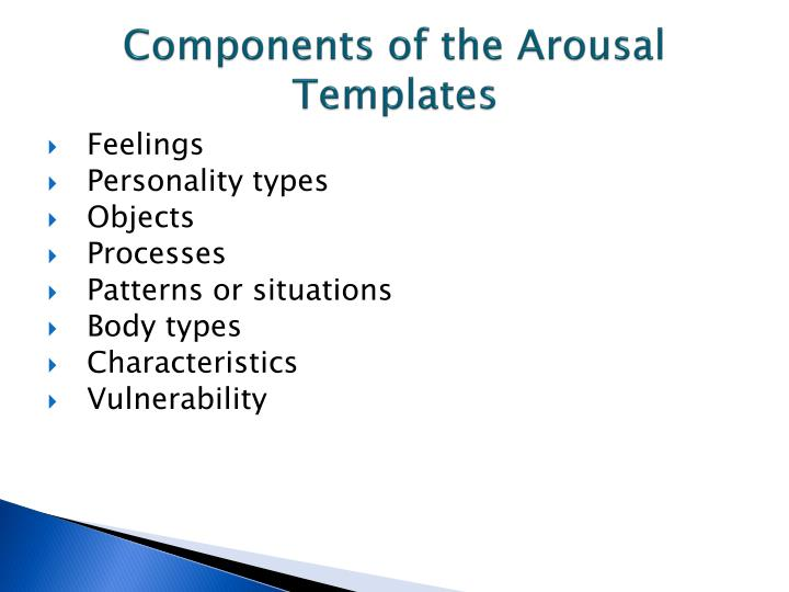 Components of the Arousal Templates