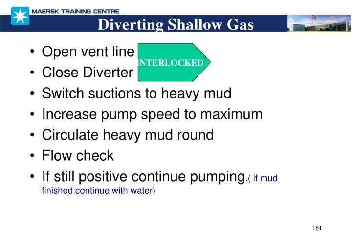 Diverting Shallow Gas