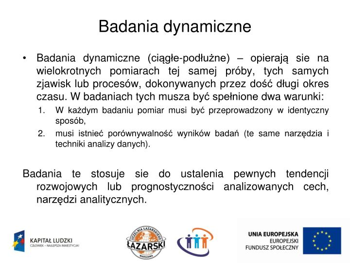 Badania dynamiczne