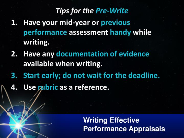 Writing Effective