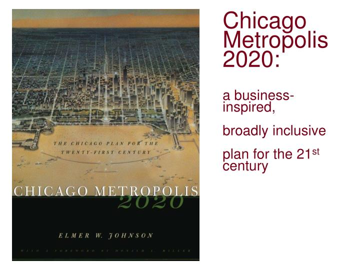 Chicago Metropolis 2020: