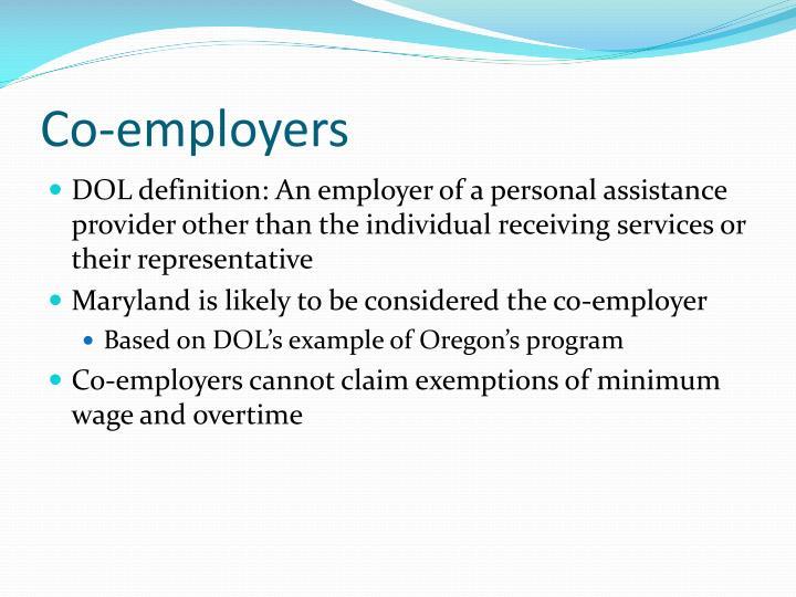 Co-employers