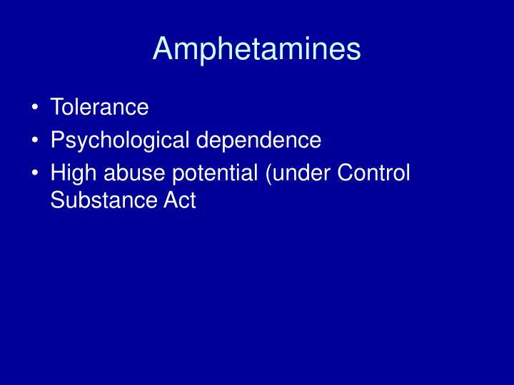 Amphetamines