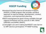 hseep funding