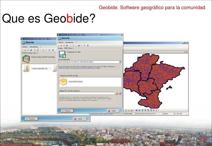 Que es Geo