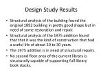 design study results
