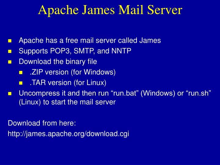 Apache James Mail Server