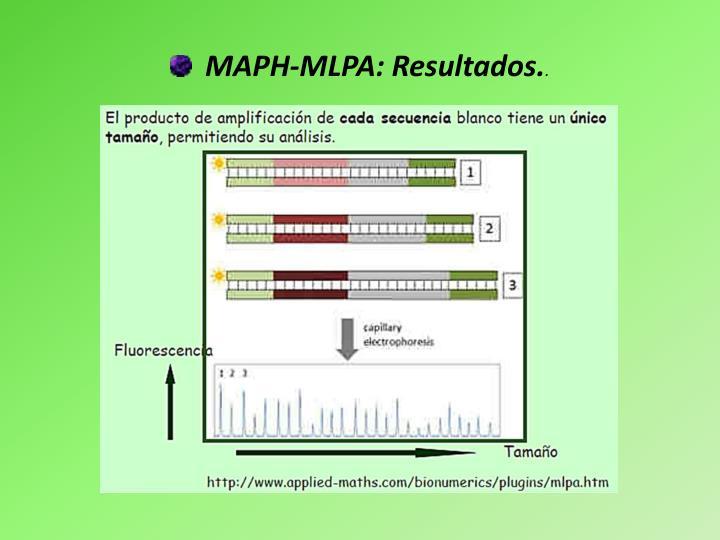MAPH-MLPA: Resultados.