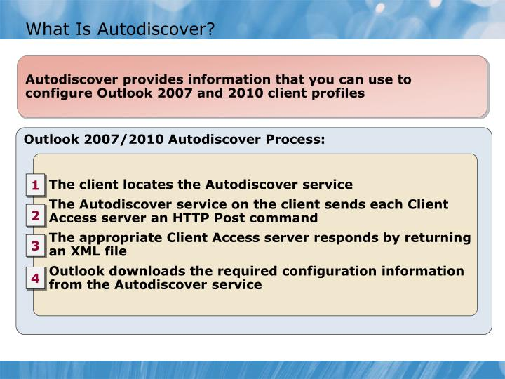 What Is Autodiscover?