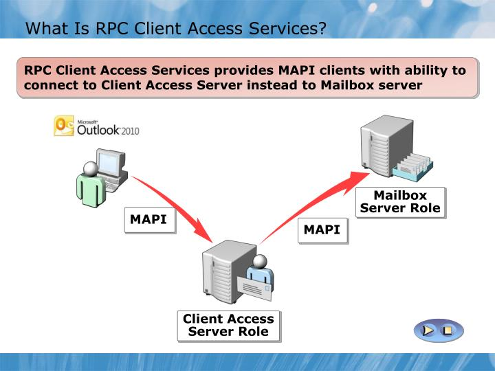 What Is RPC Client Access Services?