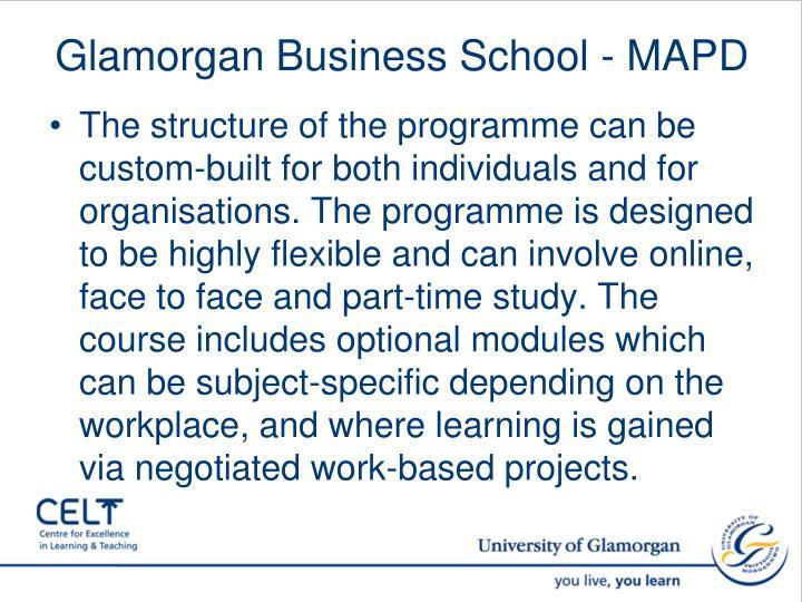 Glamorgan Business School - MAPD