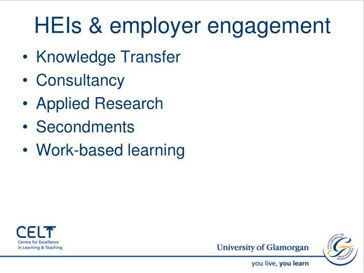 HEIs & employer engagement